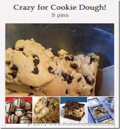 Cookie Dough on Pinterest
