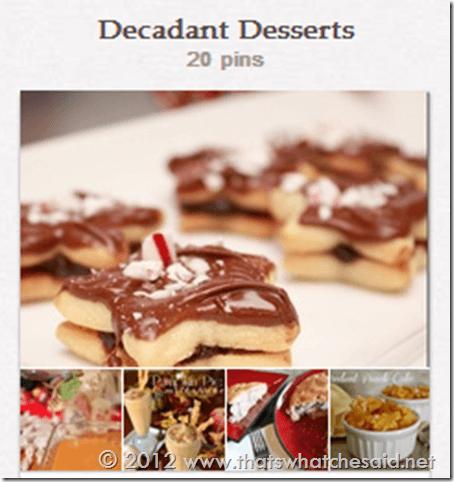 Desserts on Pinterest
