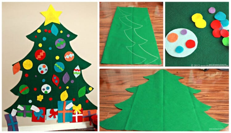 Felt Christmas Tree Pattern.Children S Felt Christmas Tree That S What Said