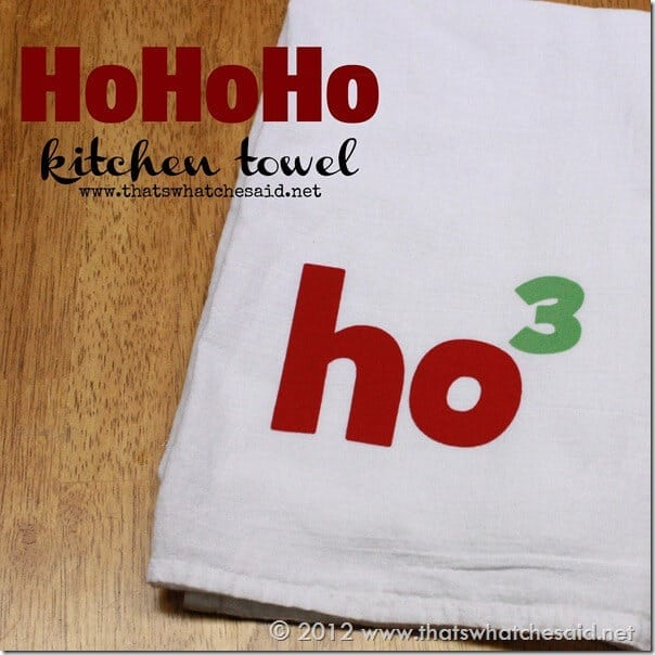 HoHoHo Kitchen Towel