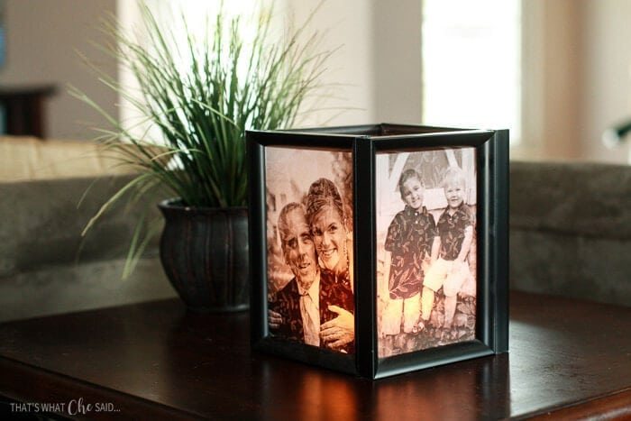 Picture Frame Luminaries - That\'s What Che Said...