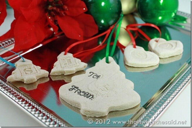 Salt Dough Ornaments and magnets