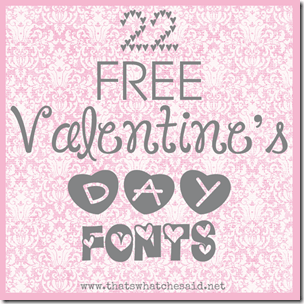 22 Free Valentine's Day Fonts