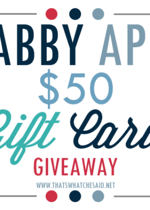 Shabby Apple Giveaway + Exciting Announcements!