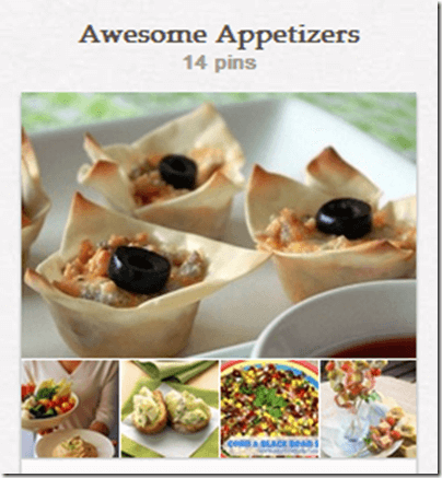 Appetizer Pinterest