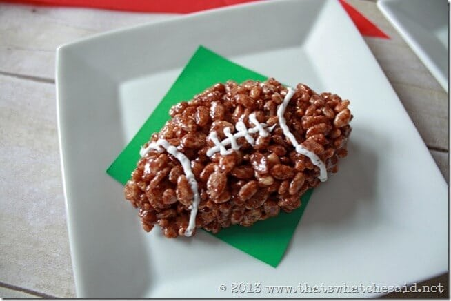 Game Day Krispie Treats