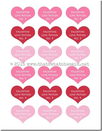Love Potion Heart Tags copy