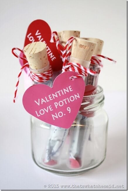 Love Potion Test Tube Vials
