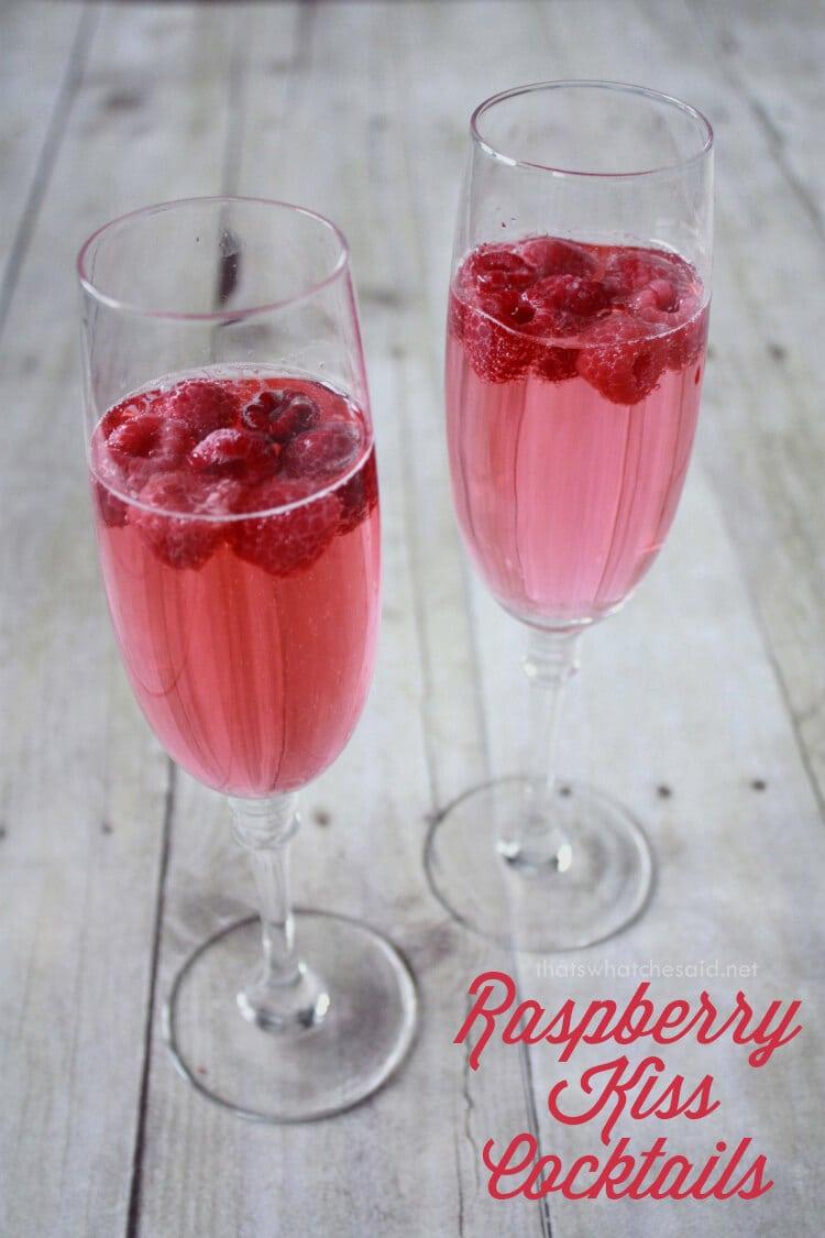 Rapsbperry Kiss Cocktail