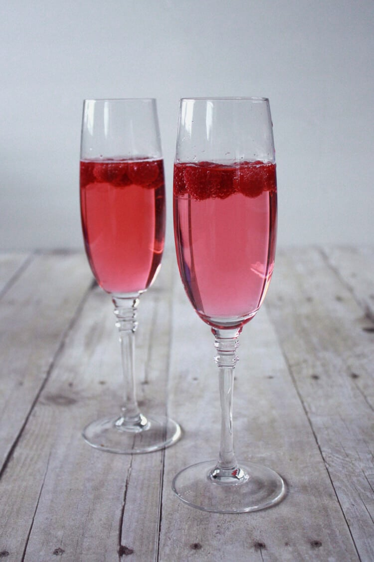 Raspberry Cocktail, Target Giveaway and People Magazine