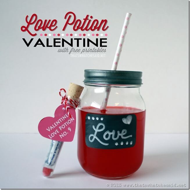Valentine Love Potion 1