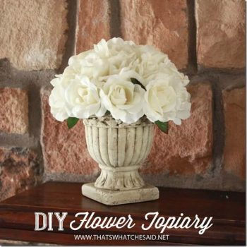 Flower Topiary | Spring Fling