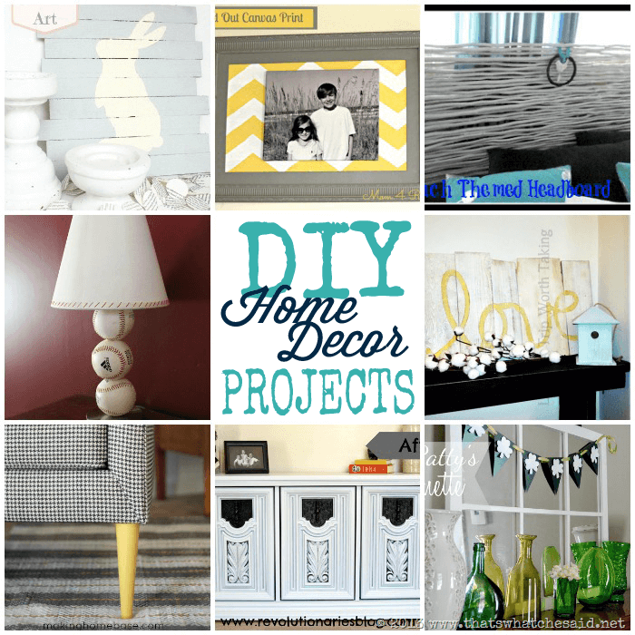 Diy home ideas monday funday link party that 39 s what for Diy home decorations ideas