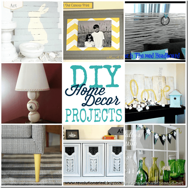 DIY Ideas Home Decor