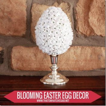 Blooming Easter Eggs Decor