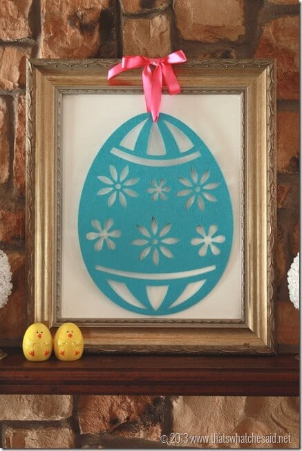 Framed Egg