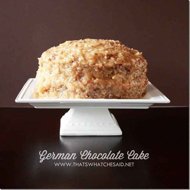 German Chocolate Cake Recipe on thatswhatchesaid.net