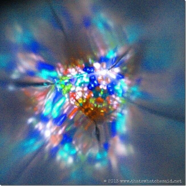 Inside the DIY Kaleidoscope