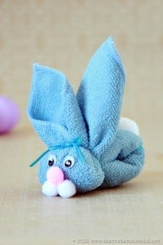 How to Fold a Wash Cloth Bunny