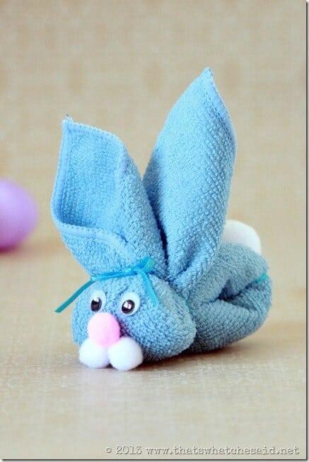 Washcloth Animal - Bunny