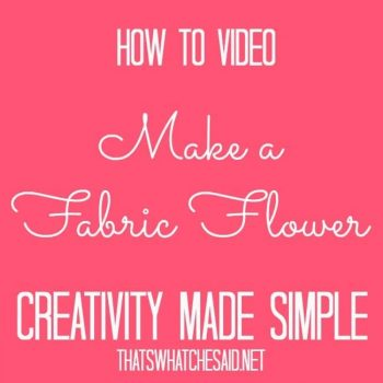 Creativity Made Simple Video for Jo-Ann Fabric & Craft Stores