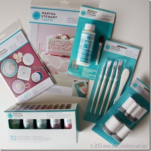 Martha Stewart Supplies