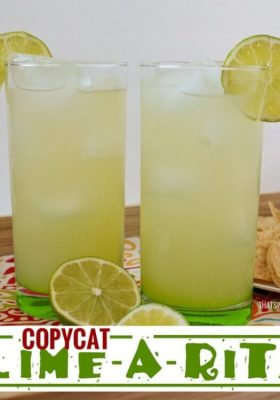 Copycat Lime-A-Rita Recipe!