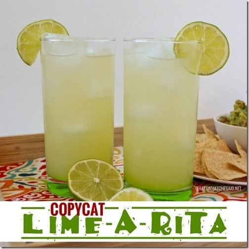 Cinco de Mayo Copycat Lime-a-rita at thatswhatchesaid.net