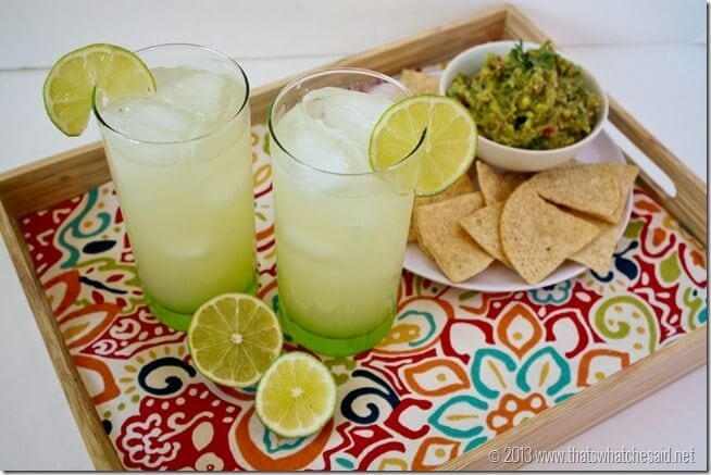 Copycat Lime-A-Rita Recipe. Perfect for Cinco de Mayo Celebrations!