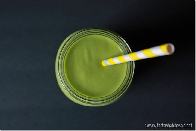 Green Smoothie at thatswhatchesaid.net