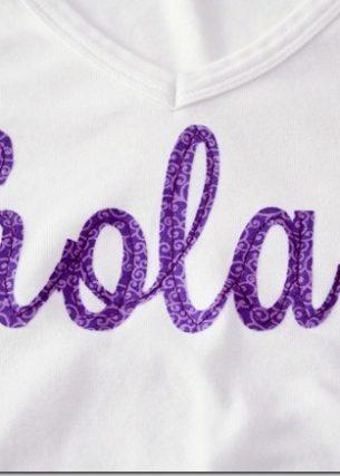 Silhouette Portrait Giveaway + Fabric Applique Shirt