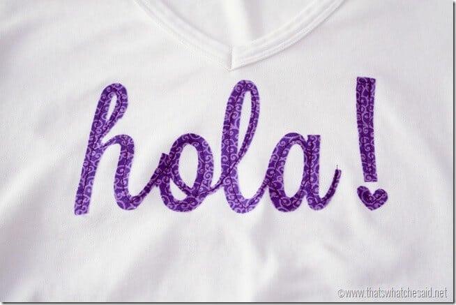 Hola Shirt at thatswhatchesaid.net