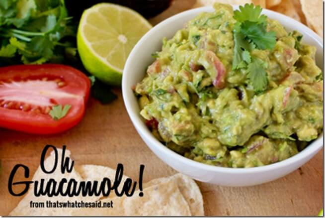 SSecret Ingredient Guacamole Recipe
