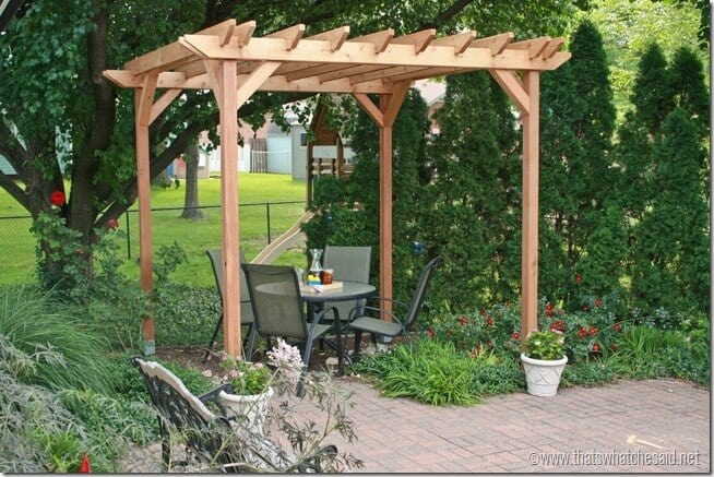 Pergola Ideas at thatswhatchesaid