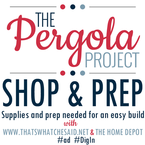 The Pergola Project Shop and Prep