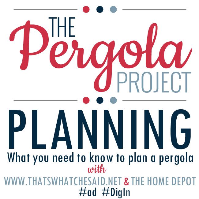 pergola project plans