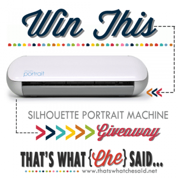 Silhouette Portrait Giveaway + Chipboard Gift Boxes