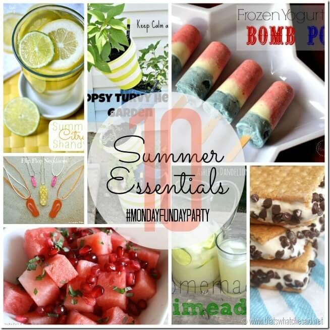 10 Summer Essentials at thatswhatchesaid.net