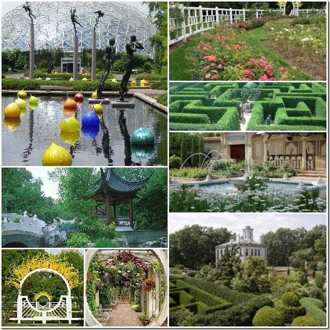 Botanical Garden Collage