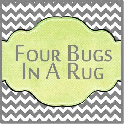 Four Bugs In A Rug