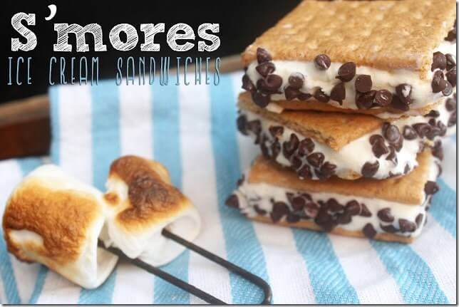 Smores ice cream sandwiches title2