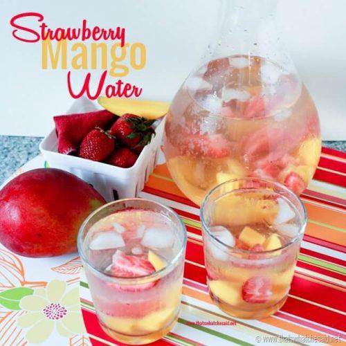 Strawberry Mango Naturally Flavored Water