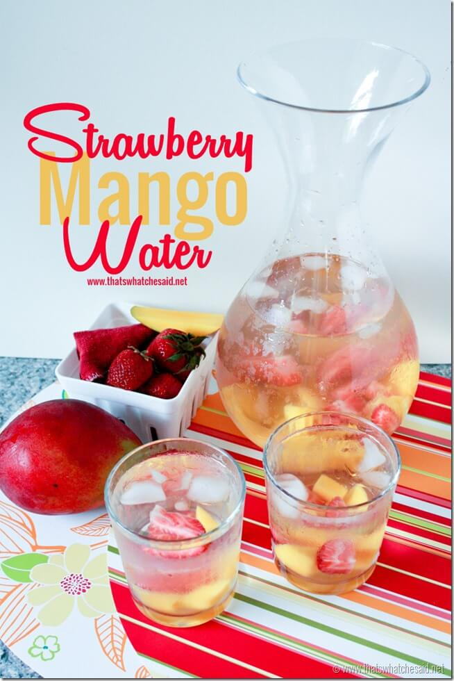 Strawberry Mango Water
