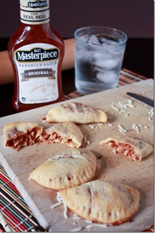 BBQ Chicken Empanadas at thatswhatchesaid