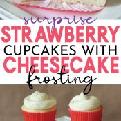 Strawberry Cupcakes Pin Image