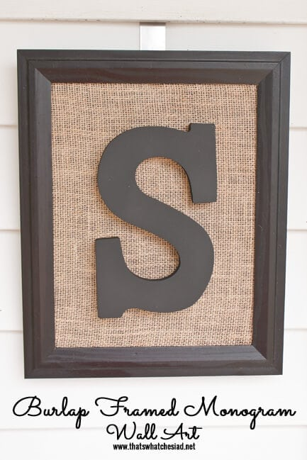 Burlap-Framed-Monogram