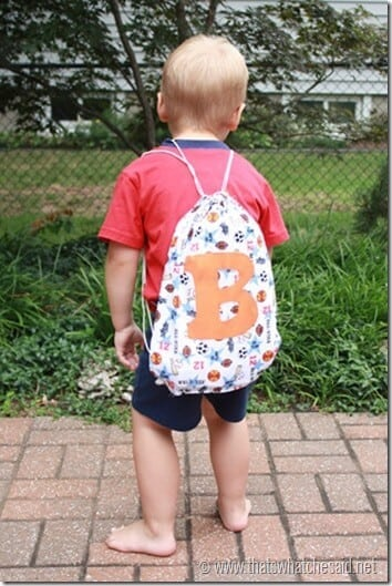 Cinch Sack Backpack Back To School