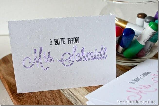 DIY Note Cards + Silhouette Sketch Pen Bundle DealsThats What
