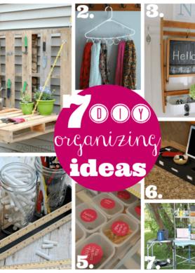 7 Organizing Ideas –  Monday Funday Party