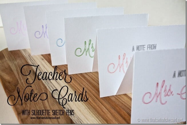 Teacher-Note-Cards-with-Silhouette-Sketch-Pens
